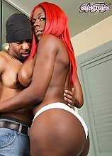 a blistering hardcore exclusive featuring the stunning Vivian Spice and male talent Soldier Boi. In this eagerly anticipated scene, busty babe Vivian